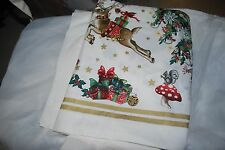 WILLIAMS SONOMA TWAS THE NIGHT BEFORE CHRISTMAS TABLECLOTH 70 x 120 NEW