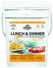 Emergency Survival Food Supply Dehydrated Bucket Rations Meal Kit Freeze Dried