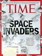 Time Magazine - July 28, 2014 - Space Invaders (beetles, bugs, snails) Cover