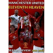 New! Manchester United  2003/2004 Season Review Eleventh Heaven! Man Utd 03/04