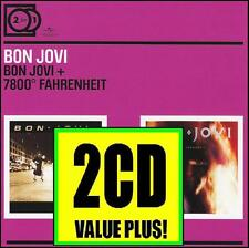BON JOVI (2 CD) SELF TITLED + 7800* FAHRENHEIT ~ 80's HAIR METAL ~ JON *NEW*