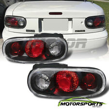1990-1997 Mazda Miata MX-5 JDM SE/LE/M/STO Convertible Black Brake Tail Lights