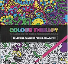 Colour Therapy Anti-Stress Adult Colouring Books/60 Designs for total relaxation