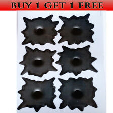 BUY ONE GET ONE FREE SHOTGUN WIDE FAKE BULLET HOLE CAR STICKERS