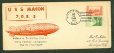 United States, 1935, Moffett Field Ca, Medicus cachet, oversized cover, Vf,