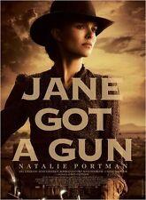 Affiche 120x160cm JANE GOT A GUN 2015 Natalie Portman, Edgerton, McGregor TBE