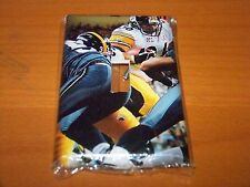 PITTSBURGH STEELERS JEROME BETTIS LIGHT SWITCH PLATE
