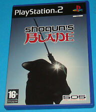 Shogun's Blade - Sony Playstation 2 PS2 - PAL