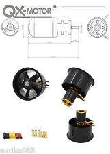 QX-Motor 64mm 5 Blades Ducted Fan With 4300KV 3-4S QF2822 Brushless Motor