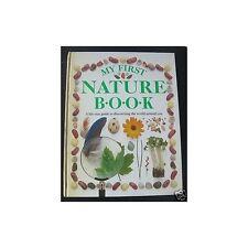MY FIRST NATURE BOOK d'Angela Wilkes Mot anglais de la Nature  Illustration 1990