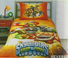 Skylanders Swap Force - Reversible - Single Bed Quilt Cover Set Great Gift Idea!