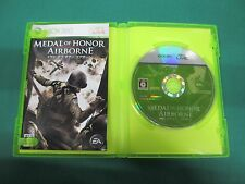 Xbox360 -- MEDAL OF HONOR AIRBORNE -- JAPAN. GAME Clean & Work fully. 50093