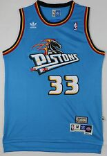 Brand New NBA Grant Hill 1998-99 Detroit Pistons A.G Teal Jersey,Stitched Size M