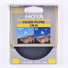 Hoya 77mm Slim Circular Polariser Filter - NEW UK STOCK