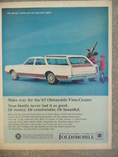 VINTAGE 1967 OLDS VISTA CRUISER AD-NOT A REPRODUCTION
