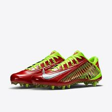 Nike VAPOR CARBON ELT TD Football Cleats RED 631425 607 MEN 12 NIB w POUCH
