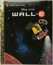 Save $5 off 4 or more! Disney Pixar Wall E Little Golden Book Free US Ship