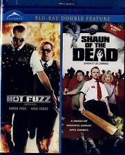 BRAND NEW DOUBLE FEATURE  BLU-RAY // HOT FUZZ  &  SHAUN OF THE DEAD //