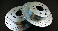 Phase 2 Z32 300ZX Conversion Rear Brake Rotors For Nissan 240SX S13 S14