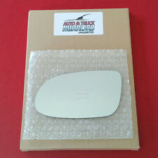 NEW Mirror Glass + ADHESIVE MERCEDES CLK SL SLK Class Driver Side DIM FIT OVER