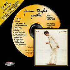 JAMES TAYLOR - GORILLA - 24 KT GOLD CD - Audio Fidelity - NEW #'D - AFZ151