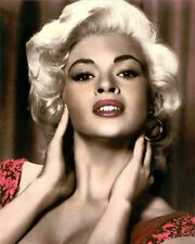 "JAYNE MANSFIELD (2) THE GIRL CAN'T HELP IT 1956 8x10"" HAND COLOR TINTED PHOTO"