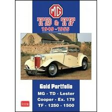 MG TD & TF Gold Portfolio 1949-1955 book paper car