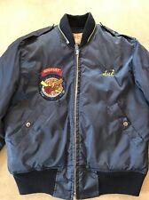 VTG 80s Air Force ATC Jacket Bomber Honarary Staff Patch