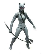 "DC Comics BATMAN ARKHAM CITY CATWOMAN  6""  Grey Variant figure Not Boxed"