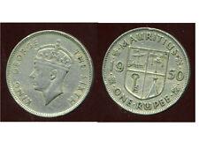 ILE MAURICE 1 RUPEE 1950