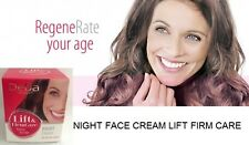 NIGHT FACE CREAM LIFT FIRM CARE Anti age wrinkles Sepilift Pro-Retinol grape oil