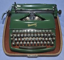 ANTIQUE VINTAGE RHEINMETALL GERMANY MECHANICAL TYPEWRITER