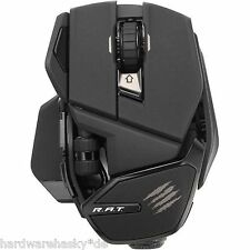MadCatz R.A.T Gaming/Office Maus/Mouse schwarz matt USB (MCB437240002) Bluetooth
