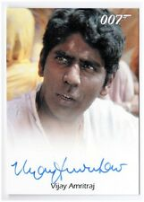 "Vijay Amritraj as Vijay  2011 James Bond 007 - AUTOGRAPH ""Octopussy"""