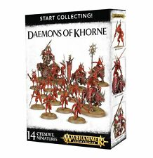 Age of Sigmar Warhammer Daemons of Khorne Start Collecting  NIB