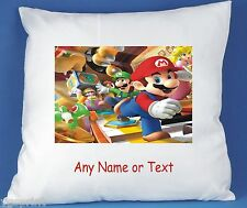 Mario Bros personnalisé luxe polyester satin doux Coussin Couverture rapide POSTAGE