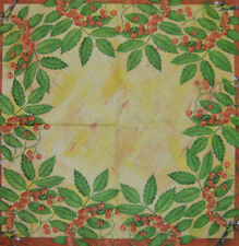 PAPER TABLE NAPKINS ROWAN TREE FOR CRAFT VINTAGE DECOUPAGE TEA PARTIES 145