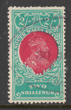 NEW SOUTH WALES 1909-14 2/- George V Stamp Duty USED
