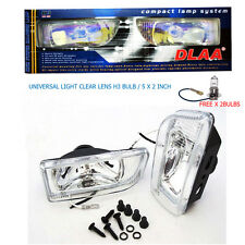 "DLAA Universal Fog Lamp Light Spot H3 12V 55W Clear White Len 2"" DLAA166"