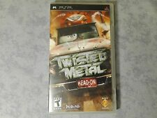 TWISTE METAL HEAD-ON - SONY PSP NTSC AMERICANO COMPLETO COME NUOVO - UCUS 98601