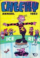 Cheeky Annual 1982 Book very good condition x