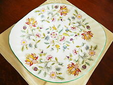 Minton HADDON HALL 2 Handled Cake Plate  Platter Serving Tray Dish (S) - NICE!