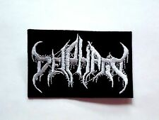 DEIPHAGO BLACK/DEATH METAL EMBROIDERED PATCH