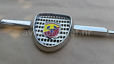 FIAT 600 500 ZASTAVA 750 ABARTH 850 1000 TC TCR FRONT GRILL BADGE MASCHERINA