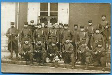 CPA Photo: Soldats du 21° Régiment d'Infanterie Coloniale / Guerre 14-18