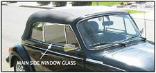 VW VOLKSWAGEN CONVERTIBLE (BEETLE AND SUPER) GLASS FOR MAIN  SIDE WINDOW. 65-79