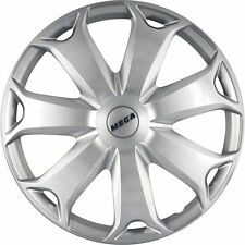 Wheel Trims Hub Caps AutoStyle Mega 14in DoubleSilver New & Boxed
