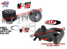 MF0357 -  KIT MOTORE CILINDRO 177 DR 63 PX 125 150 MARMITTA SIP ROAD RACING 2.0