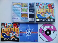 Pong Hasbro Interactive (Sony PlayStation 1, 1999) Tested