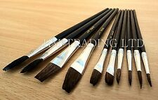 Harris 10 Pcs Harris Performance Artists Paint Craft Fine Brush Hobbies Art